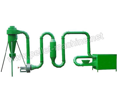 Pipe Dryer Also Known As Flash Is Used For Drying Materials Whose Moisture