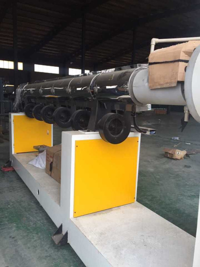 Plastic Blind Ditch Drainage Production Line