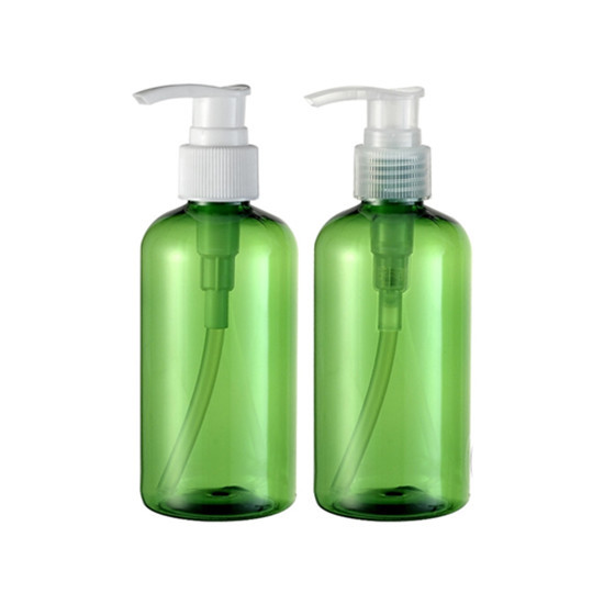 Plastic Boston Pet Lotion Bottle For Cosmetic Packaging 220ml