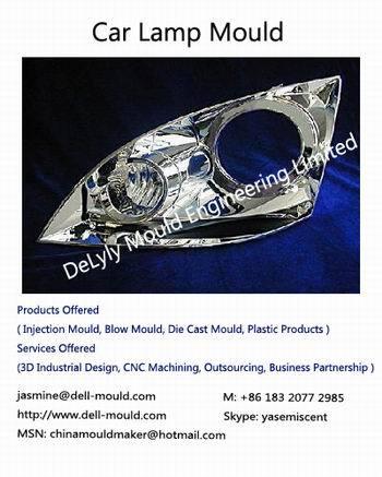 Plastic Car Lamp Mould