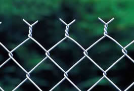 Plastic Chain Link Wire Fence Netting