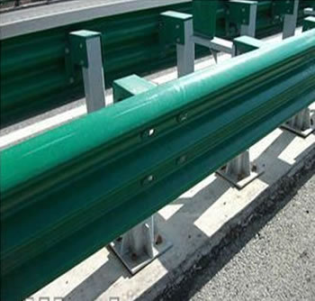 Plastic Coated Beam Guardrail Barrier