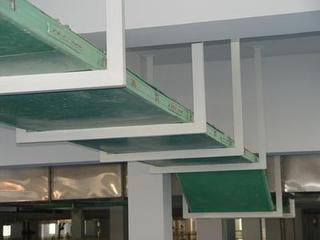 Plastic Coated Steel Cable Tray Duct Accessories
