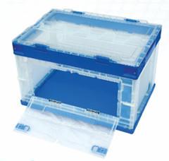 Plastic Folding Carton Or Box Crate 530