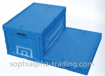 Plastic Folding Carton Or Box Crate 650