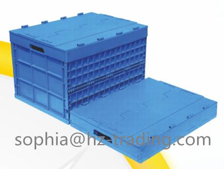 Plastic Folding Carton Or Box Crate 760