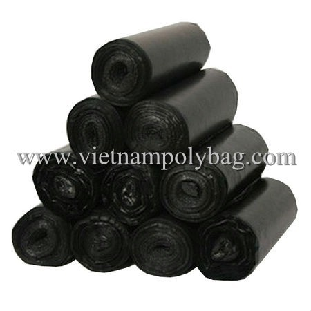 Plastic Garbage Bag On Roll Made In Vietnam