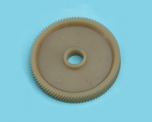 Plastic Helical Gear Known As Twisted Spur Gears