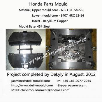 Plastic Honda Interior Parts Mould