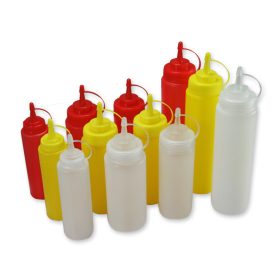 Plastic Ldpe Squeeze Tomato Soft Bottle Chili Sauce