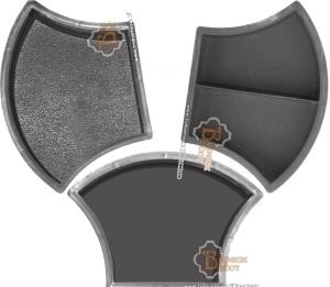 Plastic Moulds For Making Interlocking Concrete Paving Vibrator Technology