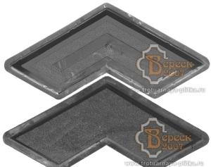 Plastic Moulds For Producing Interlocking Concrete Pavers