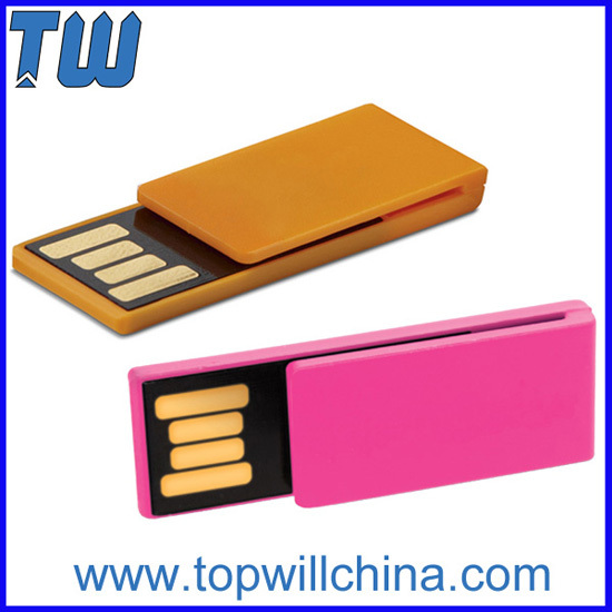 Plastic Paper Clip Flashdrive Odm For Company Promotion Gifts