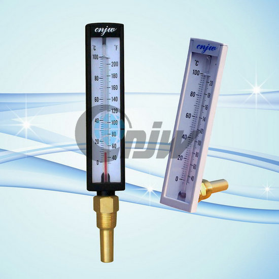 Plastic Shell Hot Water Glass Thermometer