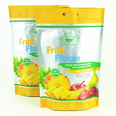 Plastic Stand Up Frozen Food Packing Bags