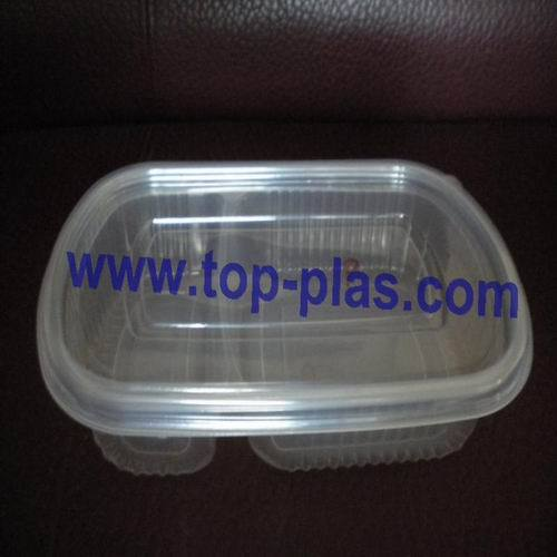 Plastic Takeaway Lunch Continer