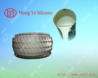Platinum Cured Silicon Rubber For Tire Mold