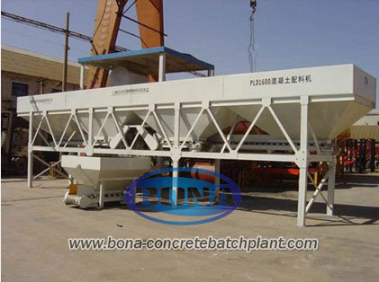 Pld1600 Concrete Batching Plant
