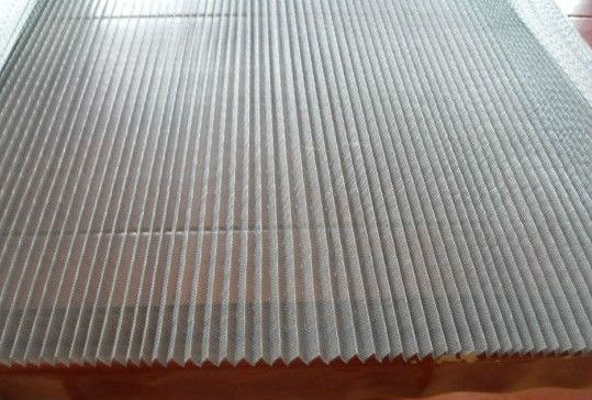 Plisse Folded Insect Screen