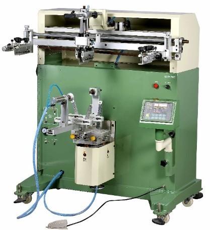 Pneumatic Cylinder Screen Printing Machine 180 Counter 700e