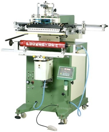 Pneumatic Cylinder Screen Printing Machine