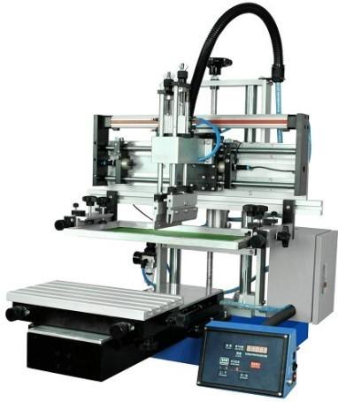 Pneumatic Drive Flat Screen Printing Machine