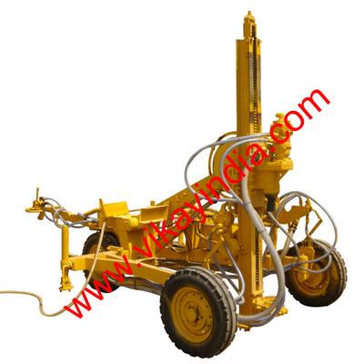 Pneumatic Wagon Drill
