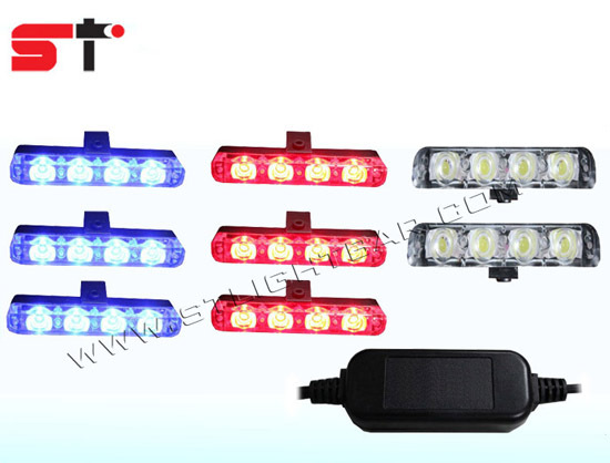 Police Car Dash Light Led Strobe Kit