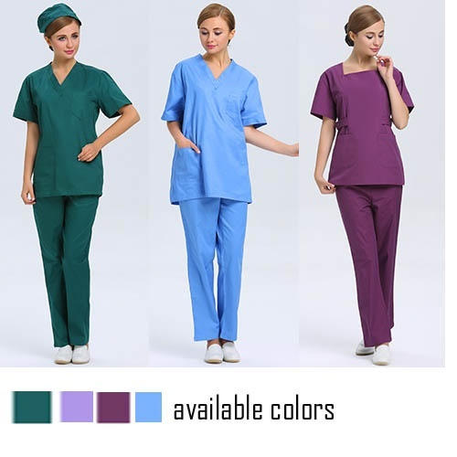 Polyester Cotton Hospital Scrubs Uniform