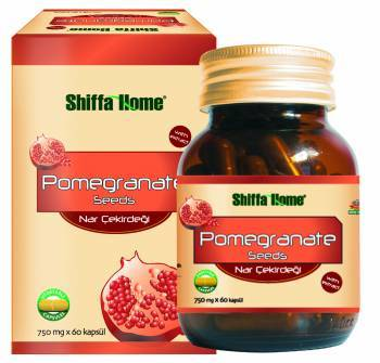 Pomegranate Seeds Natural Herbal Healthcare Capsule For A Healthy And Long