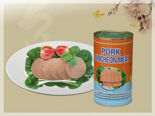 Pork Luncheon Meat Canned Food