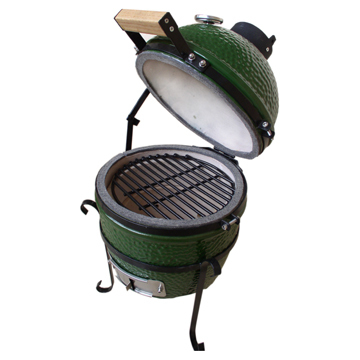 Portable 13 Inches Outdoor Charcoal Pellet Grill Oven
