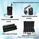 Portable Audio Amplifiers Tour Guide System For International Conference An