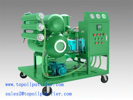 Portable Wheel Moved Vacuum Insulating Oil Filtration Series Zy Transformer