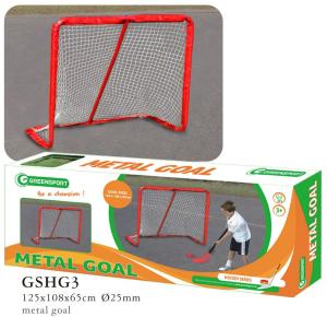 Potable Metal Hockey Goal Gshg3
