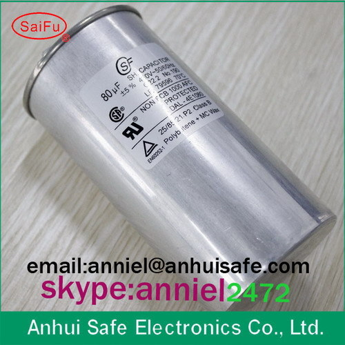 Power Application And Cbb65 Capacitors Type Ac Capacitor 80uf 450vac For Ai