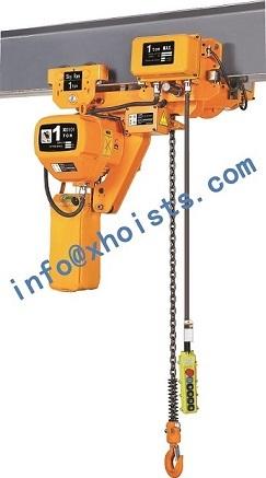 Powered Hoist 0 5ton 10ton Ultra Low Headroom
