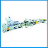 Pp Pc Hollowness Grid Board Production Line Extruder Extrusion