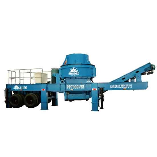 Pp Series Portable Crushing Plants