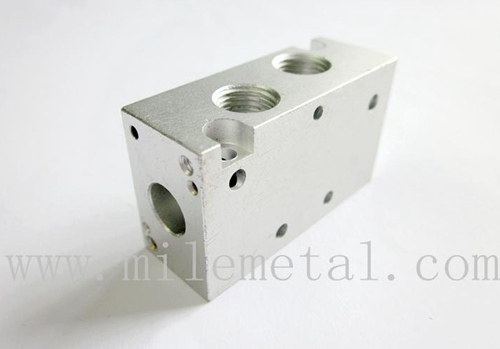 Precision Pneumatic Components Mini Cylinder High Quality Aluminum Valve Bo
