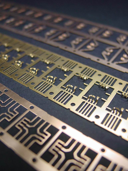 Precision Stamping Parts And Electronic Lead Frame