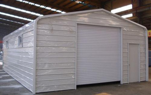 Prefabricated Steel Garage Carport Gz Prf 1004