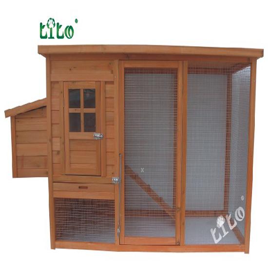 Premium Chicken Coop Hen House With A Big Run Llch 006
