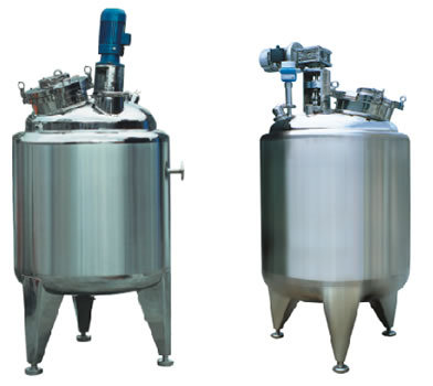 Prepare Pot Tank Stainless Steel