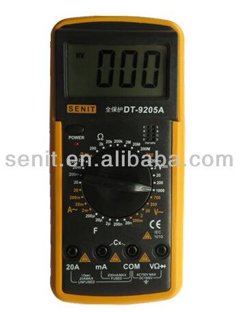 Product Multimeter Dt9205a