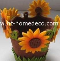 Promotion Gift Autumn Festival Felt Flowerpot Holder