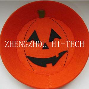 Promotion Gift Halloween Orange Color Felt Tray
