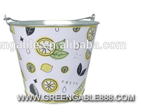 Promotional Gift Fo 0 28mm Tinplate Ice Bucket