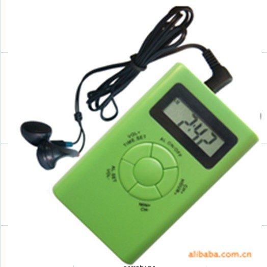 Promotional Mini Raido With Time And Frequency