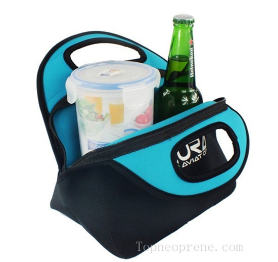 Promotional Neoprene Lunch Picnic Tote Bag Cooler Warm Box Case